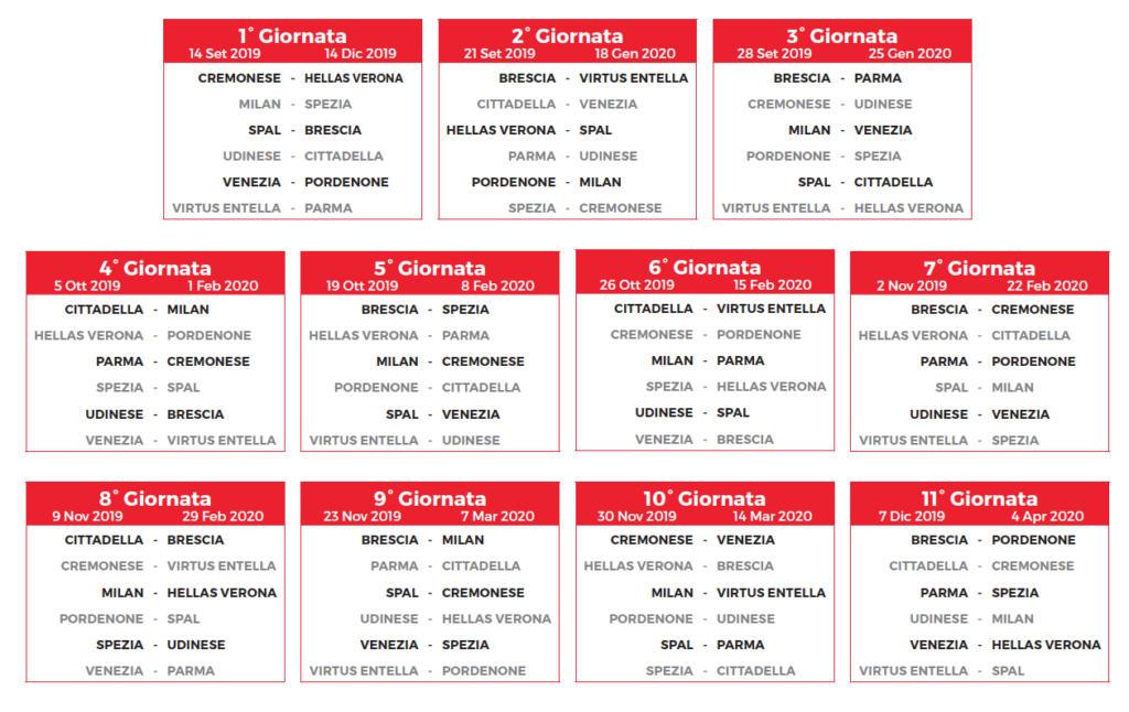 Calendario Verona.Primavera Cremo Pubblicato Il Calendario Si Inizia Con L